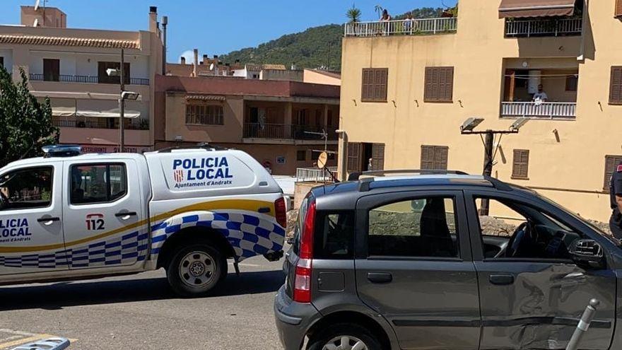 Verfolgungsjagd von Palma bis Andratx: Fahrer rammt mehrere Autos