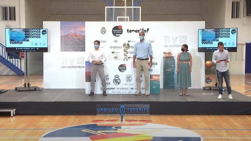 Sorteo de la Supercopa Endesa Tenerife 2021.