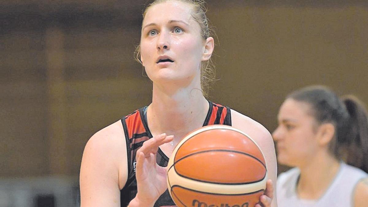 La nueva jugadora del Zamarat, Valeria Berezhynska.