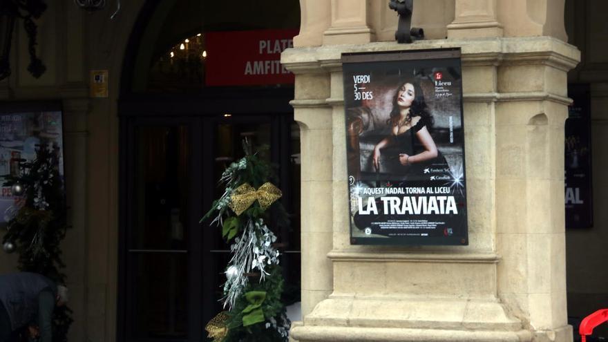 El Liceu obrirà aquest dilluns per seguir amb les funcions de 'La Traviata'