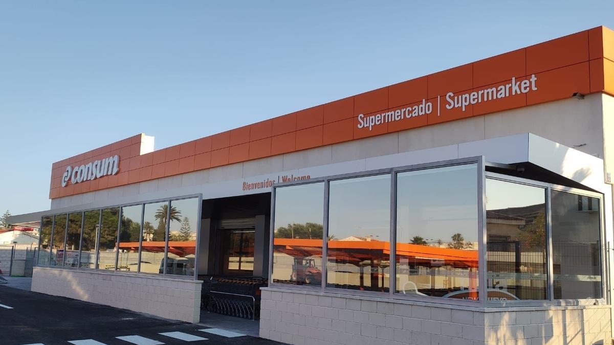 Supermercado Consum en Torrevieja