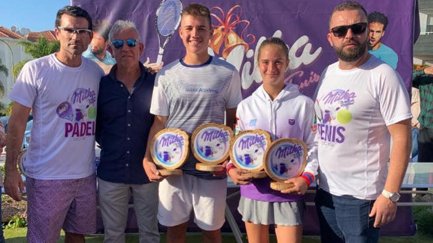 Mark Owen y Luna Di Noto conquistan el Torneo Club Puerto de la Cruz Milka
