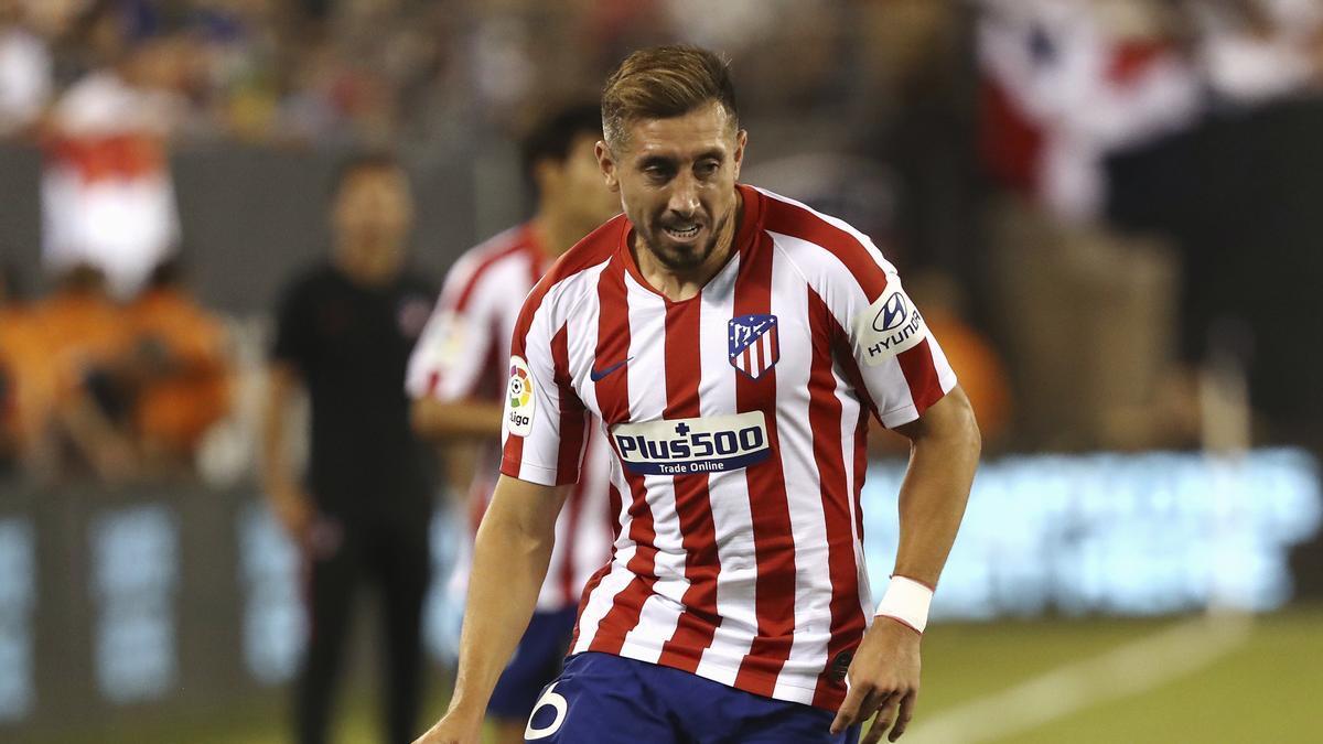 Herrera fue campeón de Liga con el Atlético este pasado curso