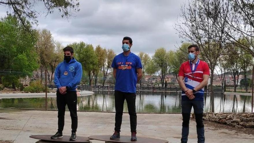 """Guillermo Fidalgo (Oviedo Kayak) hace """"doblete"""" en la Copa de España de Aguas Bravas, en Lleida"""