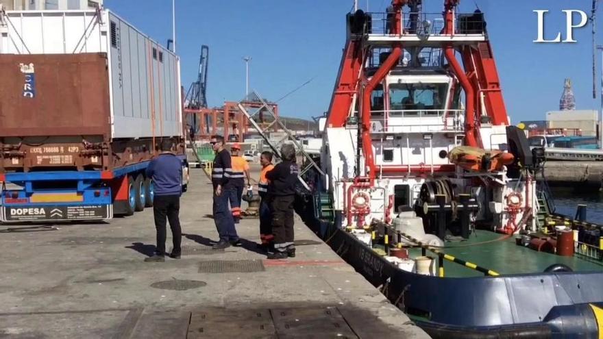 Demostración del nuevo sistema de filtrado de aguas de lastre