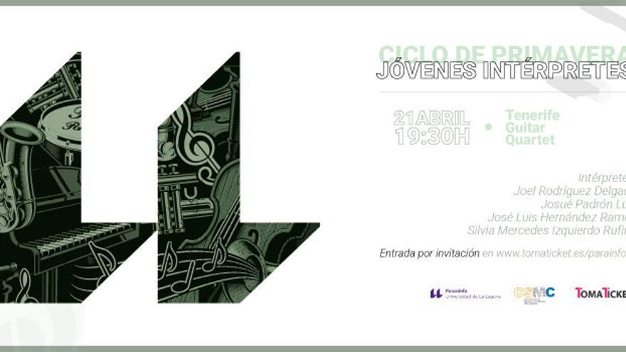 Ciclo de Jóvenes Intérpretes de la Universidad de La Laguna. Tenerife Guitar Quartet