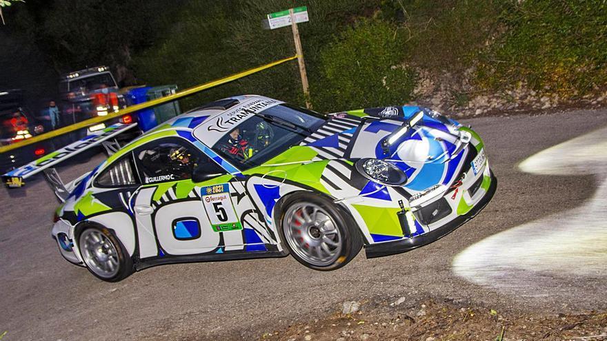 David García se lleva el triunfo en el Rallye Sol de Ponent