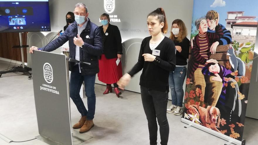 Pontevedra se vuelca con el Día da Lingua de Signos