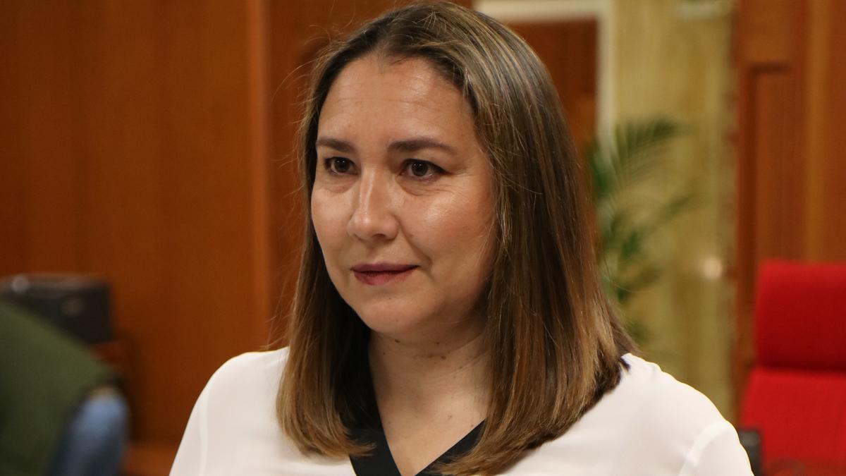 La delegada de Casco Histórico del Ayuntamiento de Córdoba, María Luisa Gómez Calero.