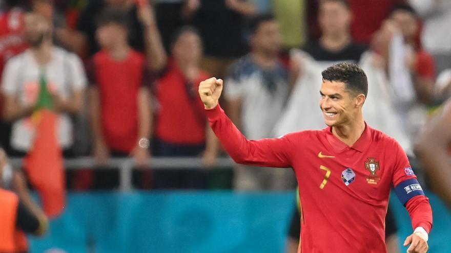 Cristiano Ronaldo, máximo artillero de Mundial+Eurocopa