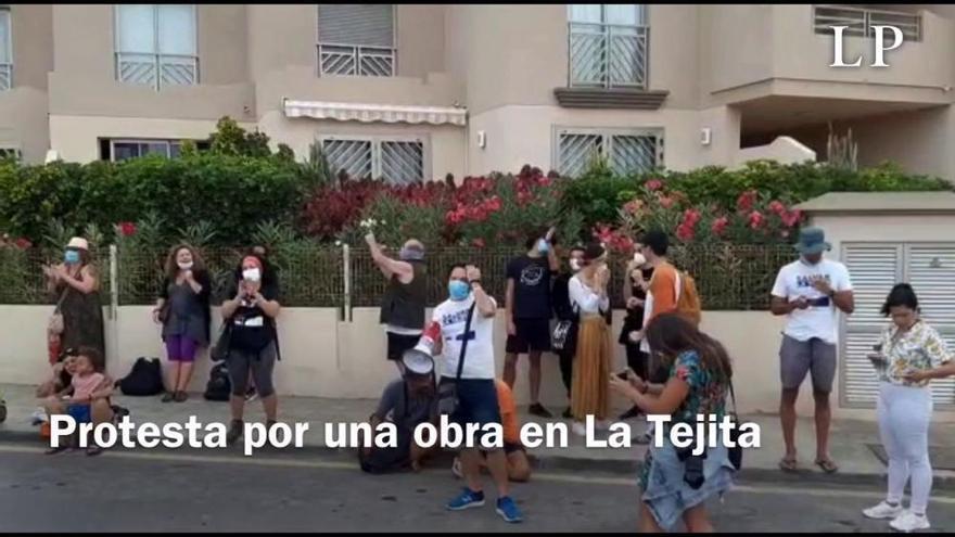 Valbuena pedirá por tercera vez a Costas que paralice la obra de un hotel en Tenerife