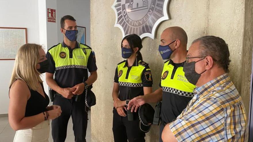 Ontinyent incorpora a siete nuevos agentes a la Policía Local