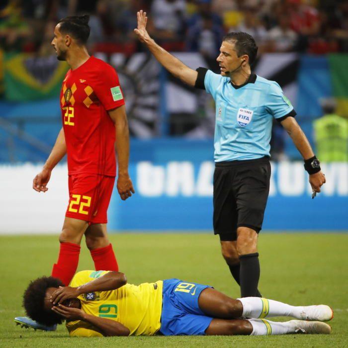 Mundial de Rusia: Brasil-Bélgica