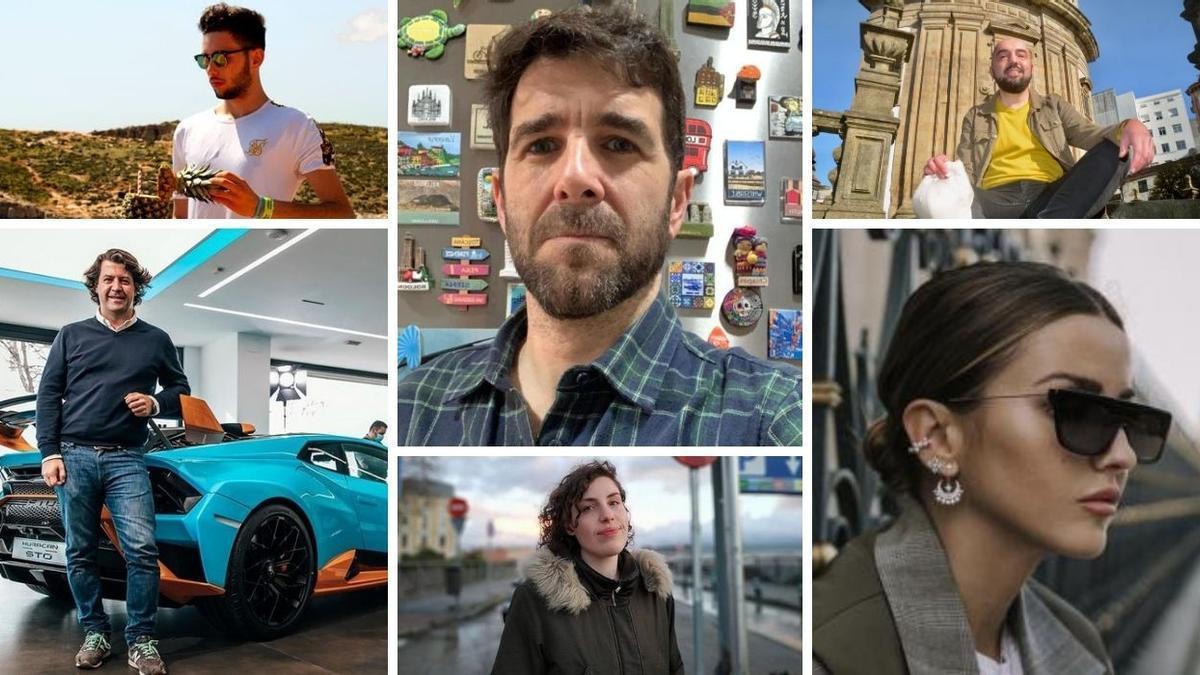 Estos son los candidatos gallegos a los 'Influencer Awards 2020'.