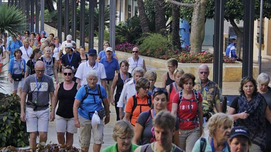 Unos 2.000 caminantes participan desde este miércoles en el '4 Days Walking'