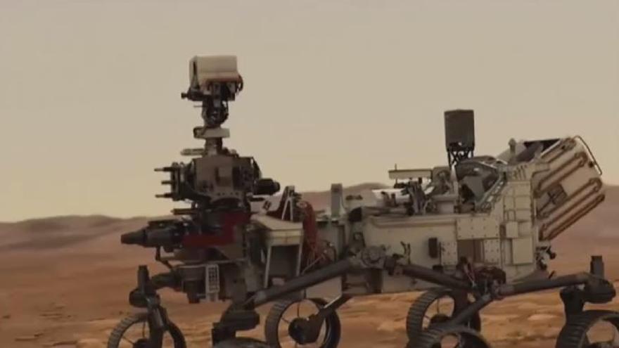 El rover Perseverance consigue extraer, por primera vez, oxígeno de Marte