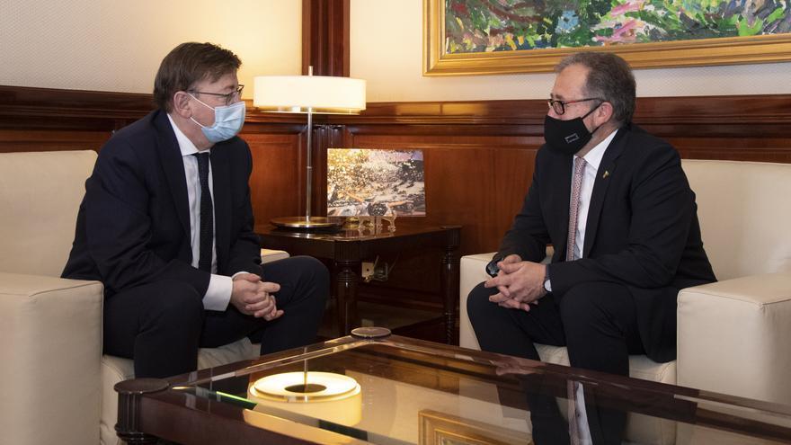 Puig quiere que el Provincial sea centro de investigación excelente