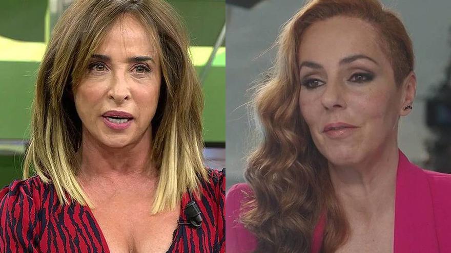 María Patiño se echa a llorar en medio de su programa