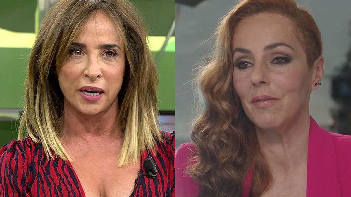 María Patiño y Rocío Carrasco.