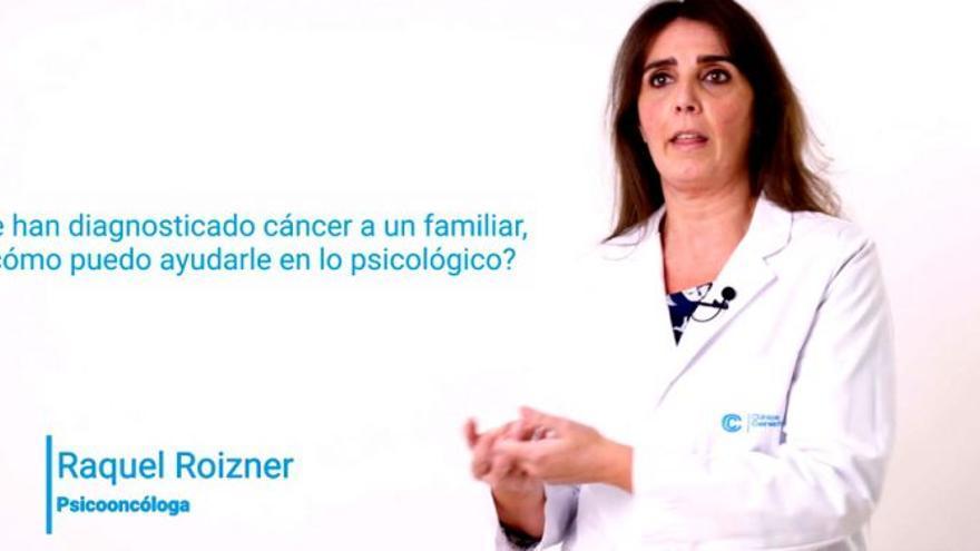 Le han diagnosticado cáncer a un familiar, ¿cómo puedo ayudarle en lo psicológico?