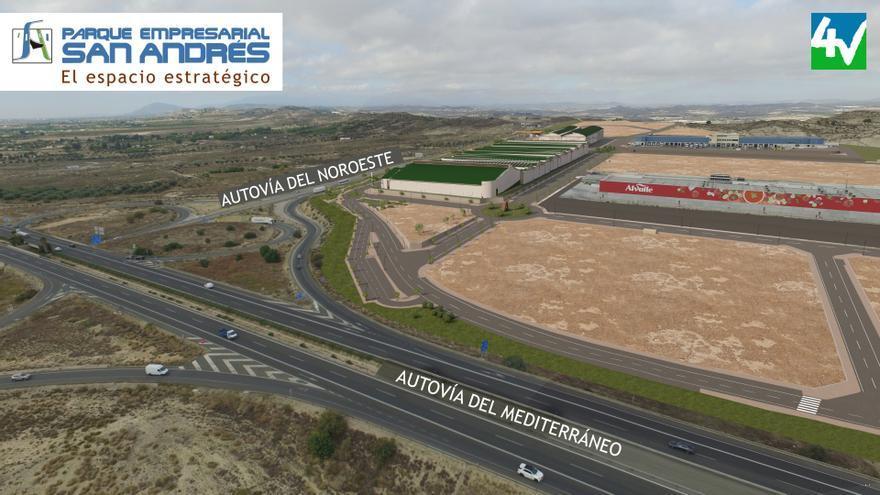 El Parque Empresarial San Andrés ofrece un enclave estratégico para su negocio