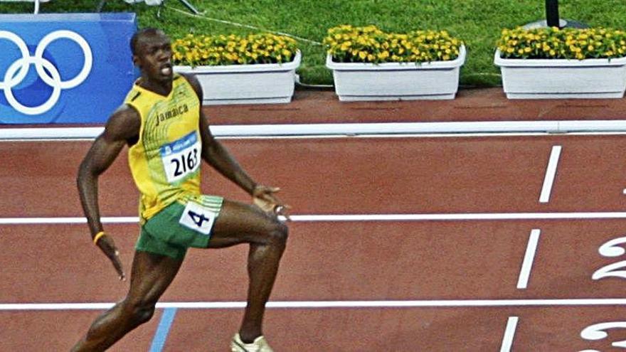 La distancia social según Usain Bolt