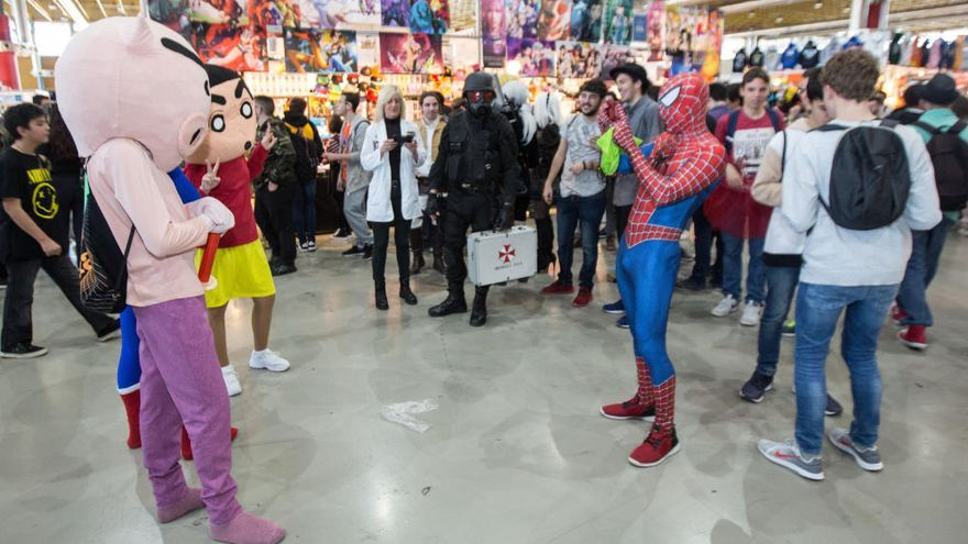Cierre del más multitudinario Salón del Manga