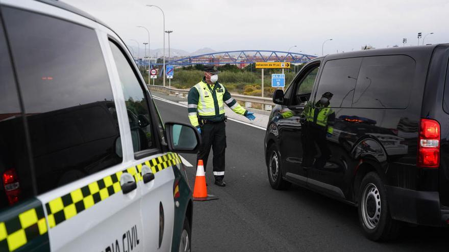 La Guardia Civil incrementa los controles de tráfico en Málaga