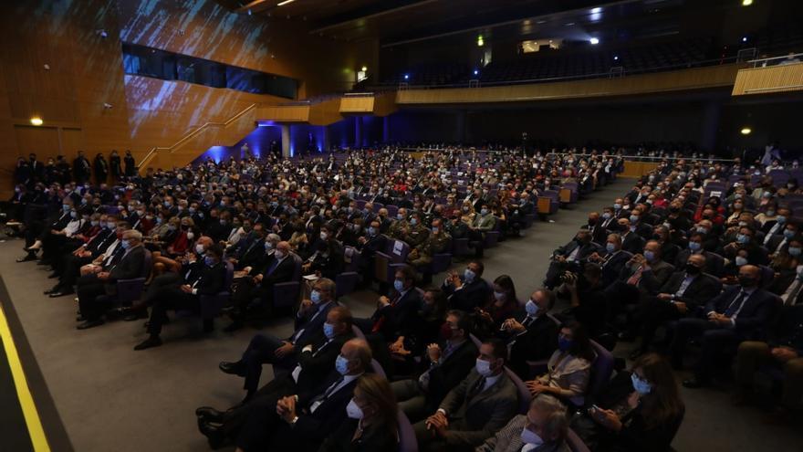 Todos los asistentes a la gala de los premios Levante-EMV-Prensa Ibérica 2021