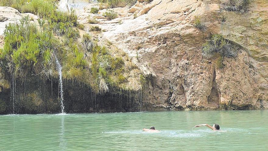 Qué hacer en la Región de Murcia: Un oasis a la sombra  del Castillo de los Vélez