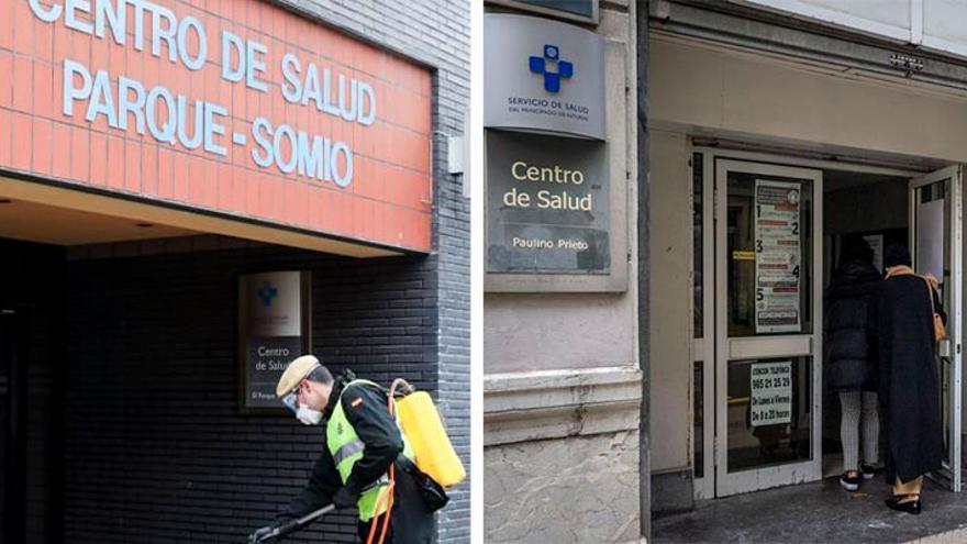 Gijón y Oviedo centran los refuerzos para descolapsar las líneas de los consultorios