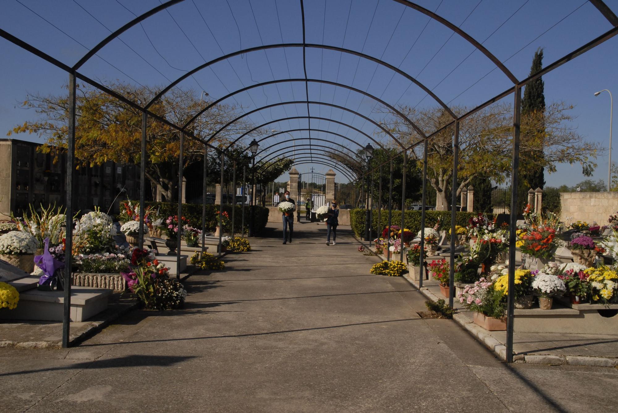 El cementerio de Santa Maria