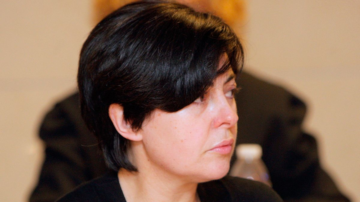 Rosario Porto en el juicio del crimen de Asunta celebrado en 2015