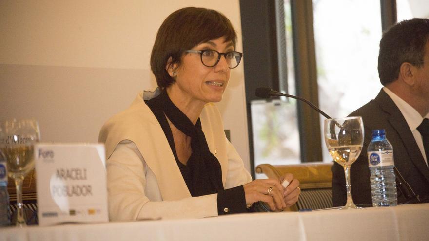 María Gámez: «La Guardia Civil es ajena a los debates políticos, es neutral»