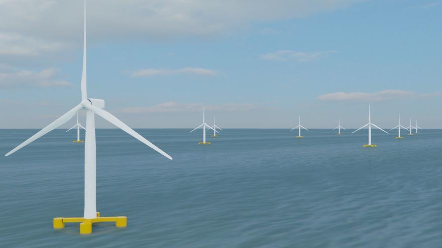 La plataforma contrària al parc eòlic marí avisa que portarà el projecte als tribunals