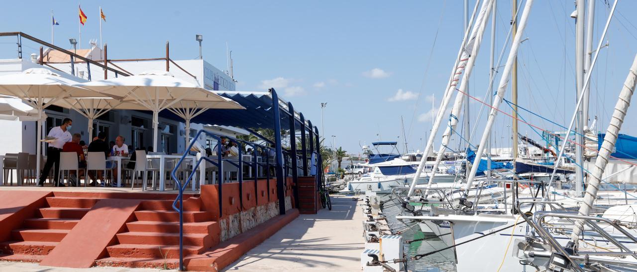 Detalle de las instalaciones del club. Vicent Marí