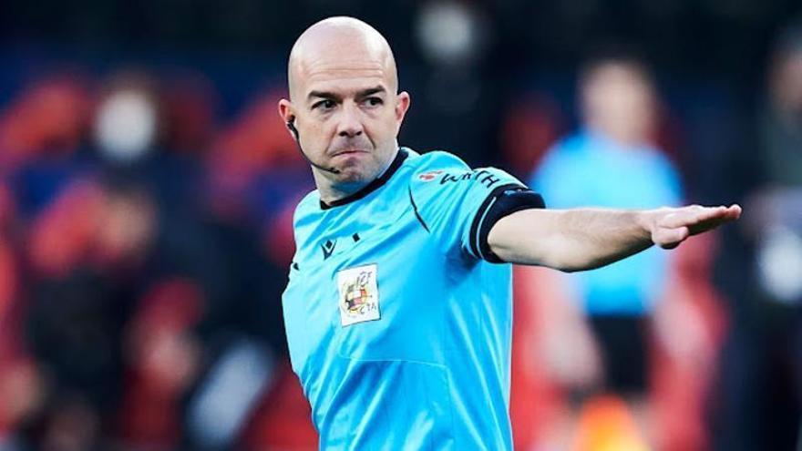 Polémico árbitro para el Valencia - Real Madrid