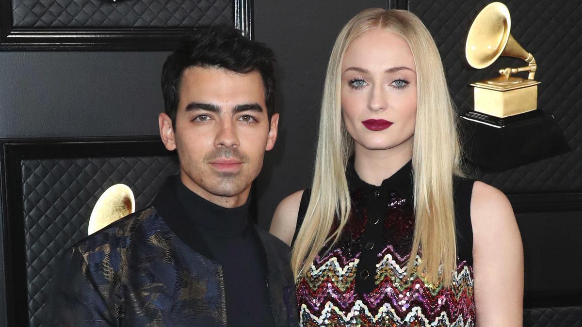 Joe Jonas y Sphie Turner.