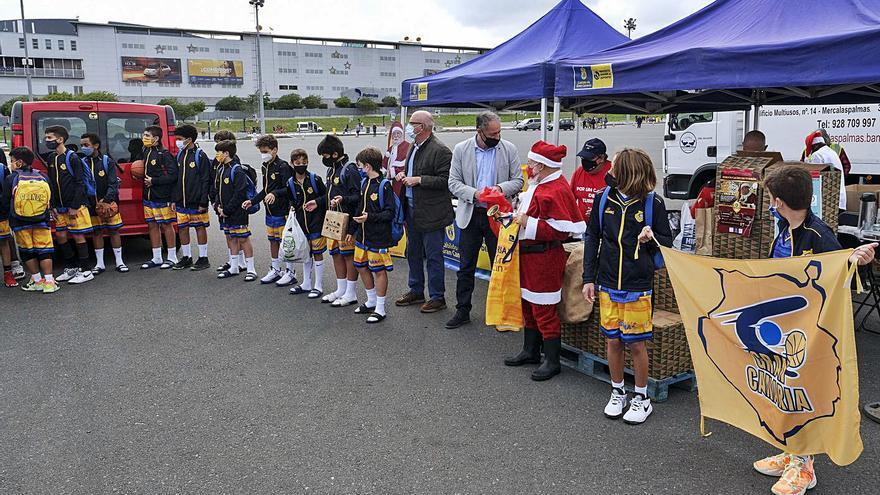 La Caravana Solidaria del Deporte pasa por Siete Palmas