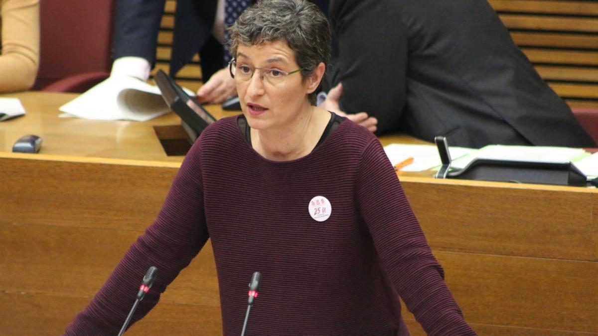 La diputada de Compromís Graciela Ferrer