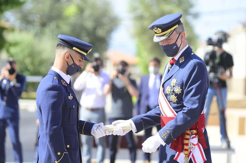 El Rey Felipe VI hace entrega de los Despachos a los egresados del A.G.A en San Javier Noticia ID: 54974633 Publicado 13/07/2021 - 13:21