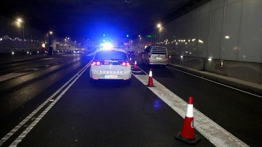 El túnel de María Pita estará cortado durante cinco horas de madrugada