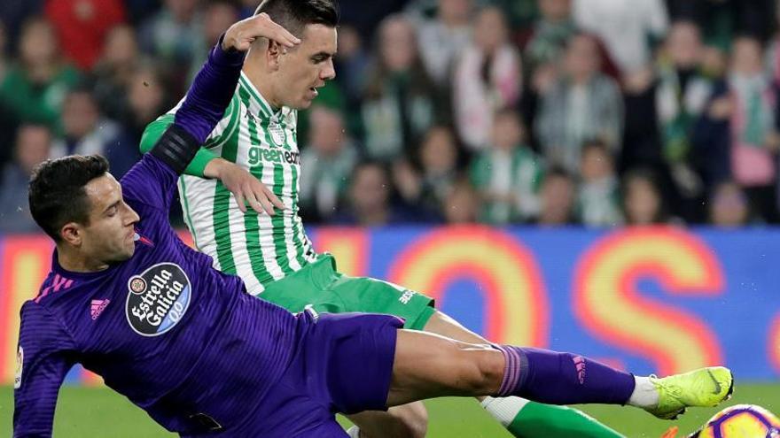 Betis y Celta empatan en un partido loco