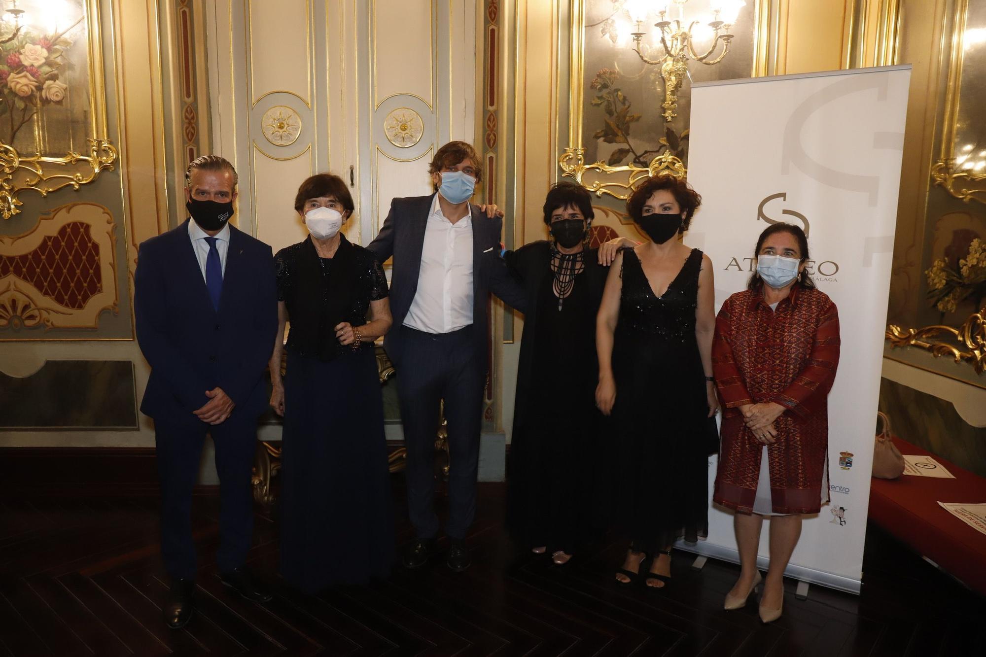 Las imágenes de la entrega de los Premios Ateneo de Málaga 2021.