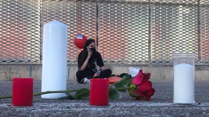 """Marta, la novia del joven asesinado en Jumilla: """"Pidamos en nombre de Kevin la justicia que se merece"""""""