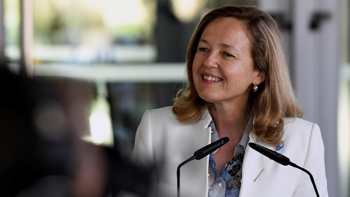 La vicepresidenta segunda del Gobierno y ministra de Asuntos Económicos y Transformación Digital, Nadia Calviño