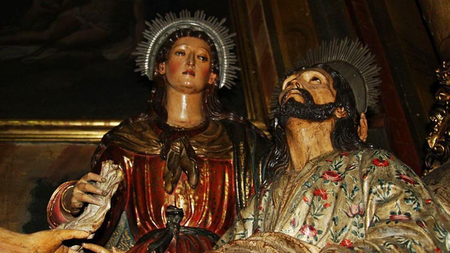 El Grupo Escultórico del Hospital de la Piedad de Benavente vuelve a las Edades del Hombre