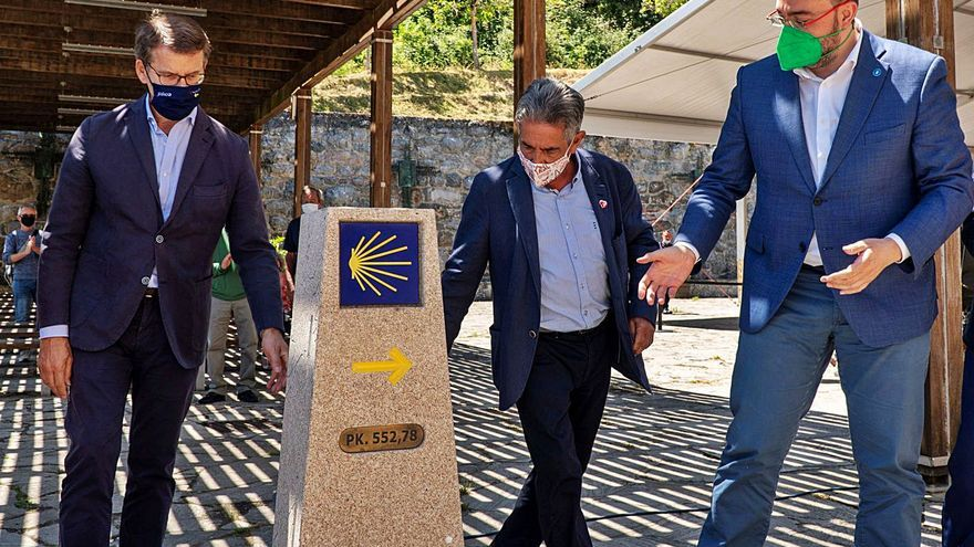 Galicia, Asturias y Cantabria se unen para impulsar el Camino de Santiago