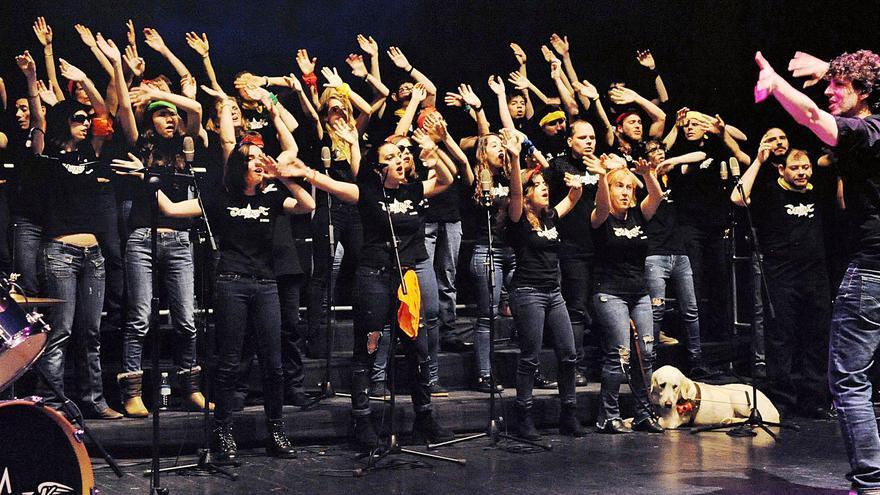 La Coral Allegro ONCE València ofereix el seu primer concert internacional