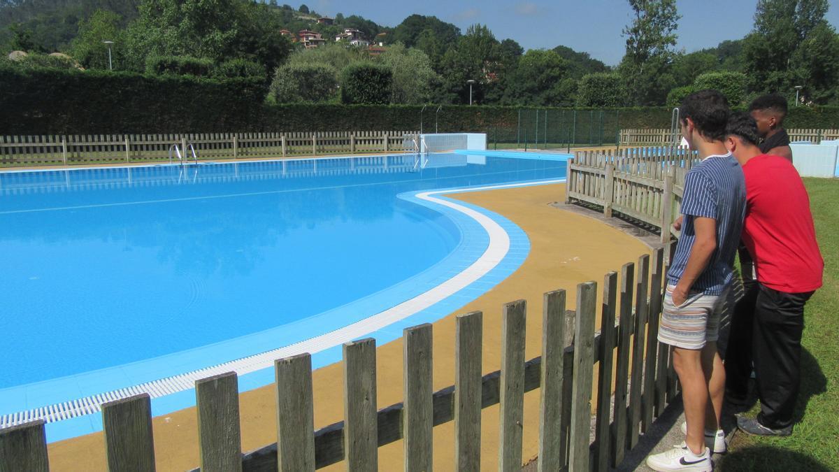 Las piscinas de Cangas de Onís.
